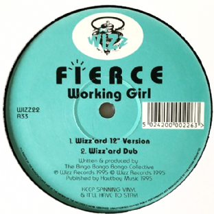 "Fierce - Working Girl (12"") (VG-/NM)"